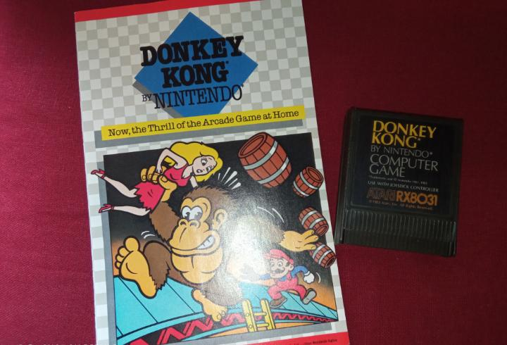 Donkey kong atari xe gs - nintendo 1981 -