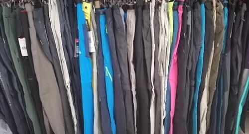 Lote de pantalones deportivos (columbia/trango/the north