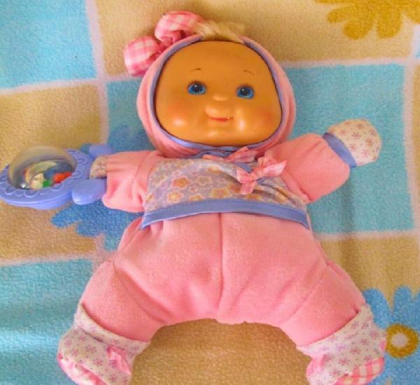 Ocasion!fisher price blandito para bebés 28cm- doll,