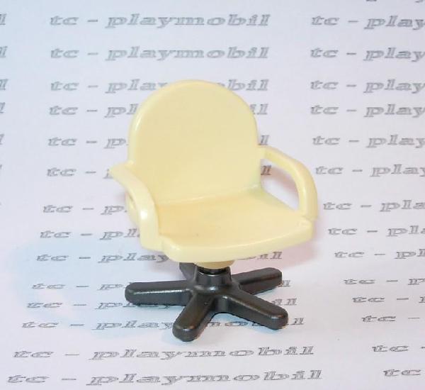 Playmobil silla moderna de oficina ciudad beige y gris