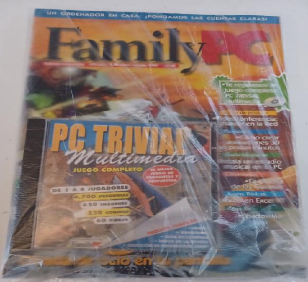 Revista informática pc familypc n° 45 agosto 1999 + cd
