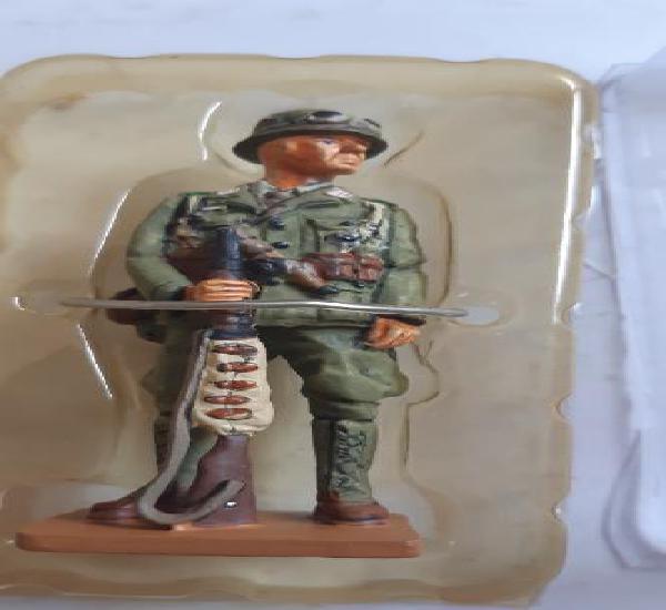 Soldado de plomo ed. del prado. afrikakorps alemania 1941.