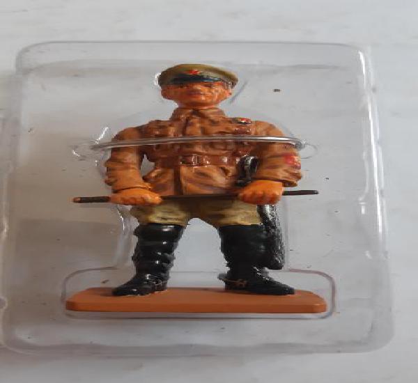 Soldado de plomo ed. del prado. comandante de compañía