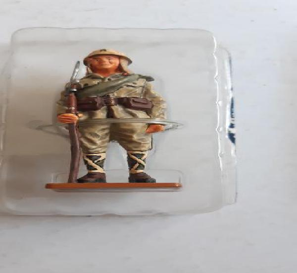 Soldado de plomo ed. del prado. soldado armada japonesa