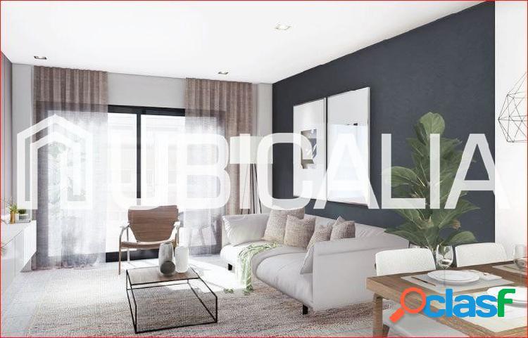 """Planta 4ª """"tipo h """". obra nueva.balcón.2 dormitorios dobles,2 baños.trastero opc."""