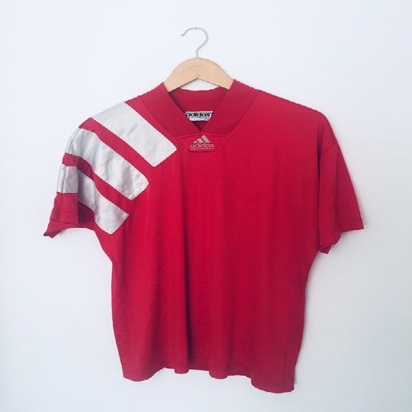 Adidas equipment maillot vintage années 90s couleur rouge
