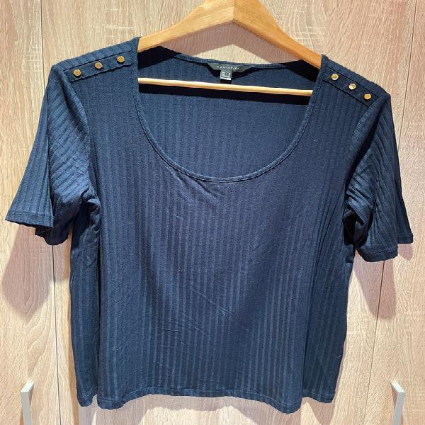 Camiseta azul cortefiel
