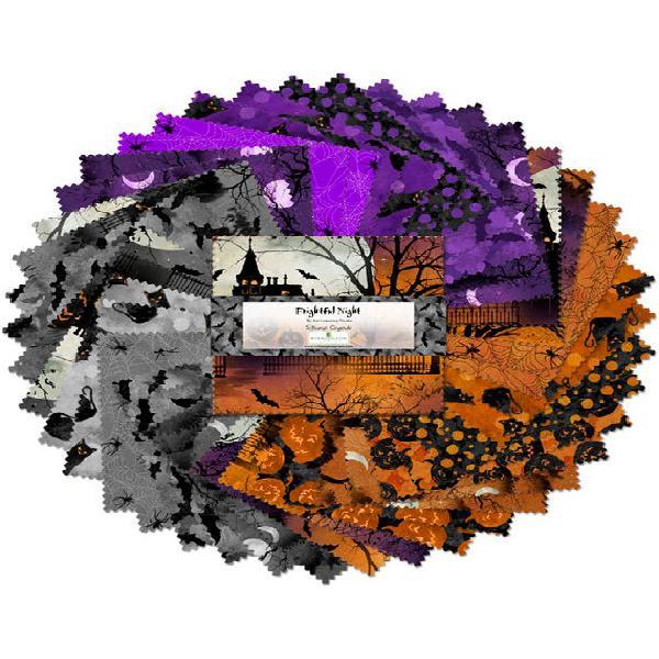 Noche espantosa 5 cristales de quilates (paquete de encanto)