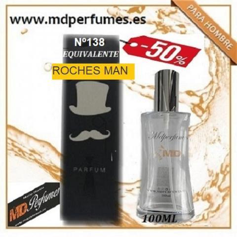Oferta 10€ perfume hombre roches man nº138 alta gama