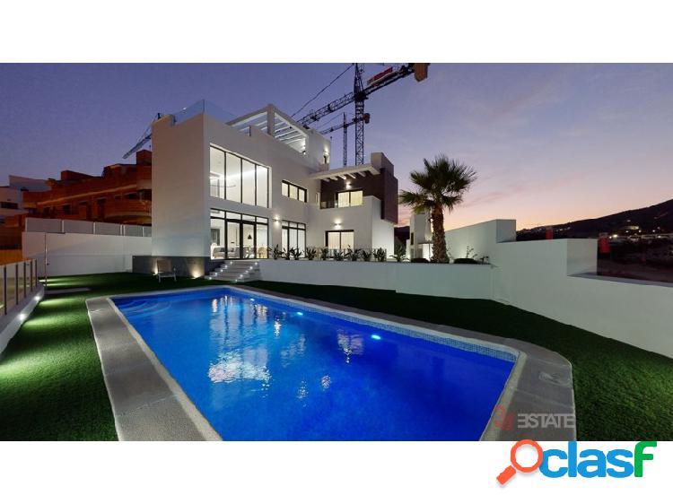 Villas en panoramic beach resort i finestrat, benidorm