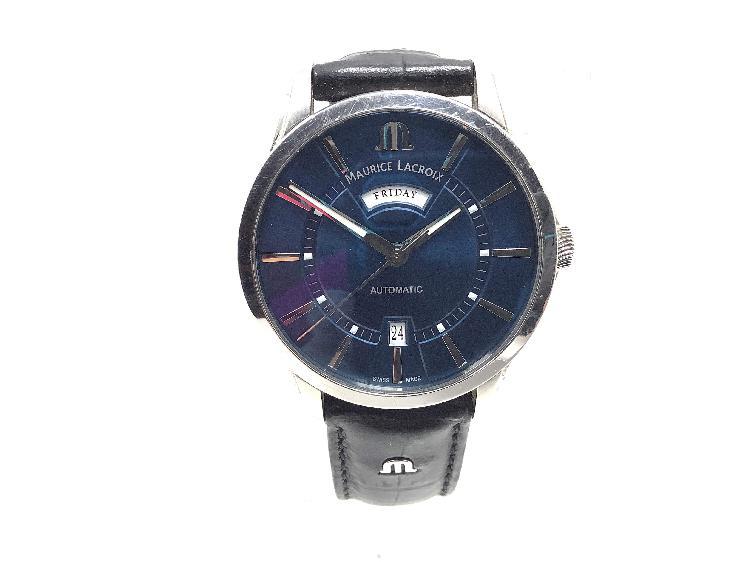 Reloj alta gama caballero maurice lacroix pontos day date