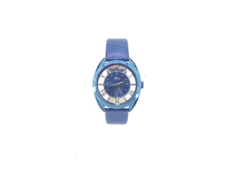Reloj pulsera señora lotus trendy transparente 18397