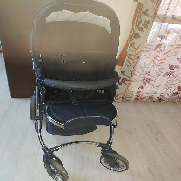 Conjunto silla paseo bebecar i3 más funda y cuna