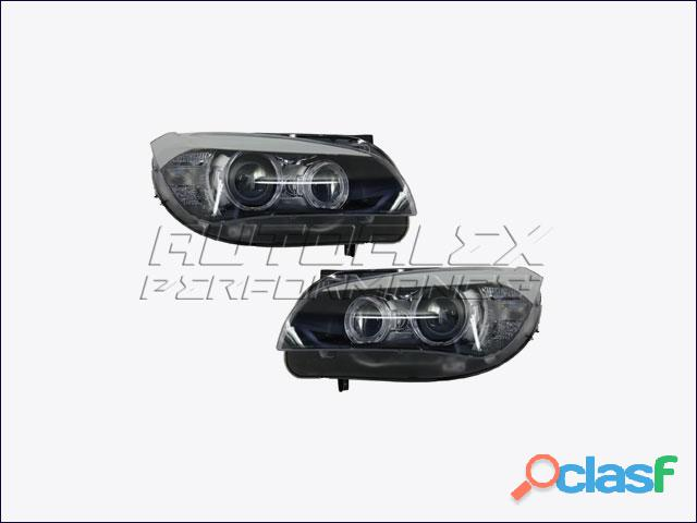 Faros Angel Eyes + LED BMW X1 E84