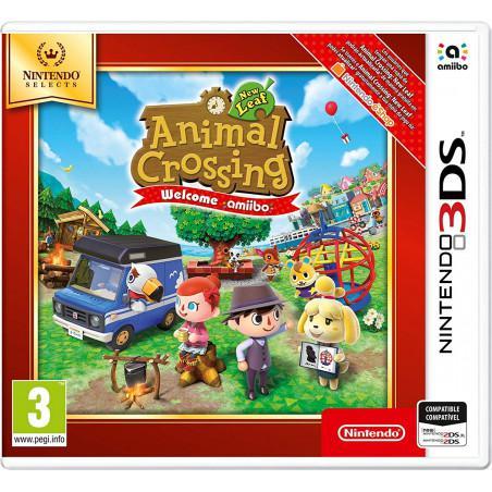 Animal Crossing New Leaf Wellcome Amiibo Nintendo Select 3DS