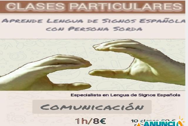 Clases Online LENGUA DE SIGNOS ESPAÑOLA - Albacete