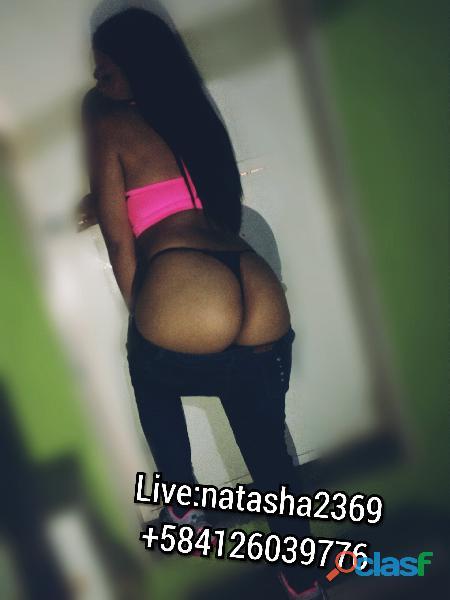 NATASHA CALIENTE LATINA OFRECE SHOWS XXX FULL MORBO!