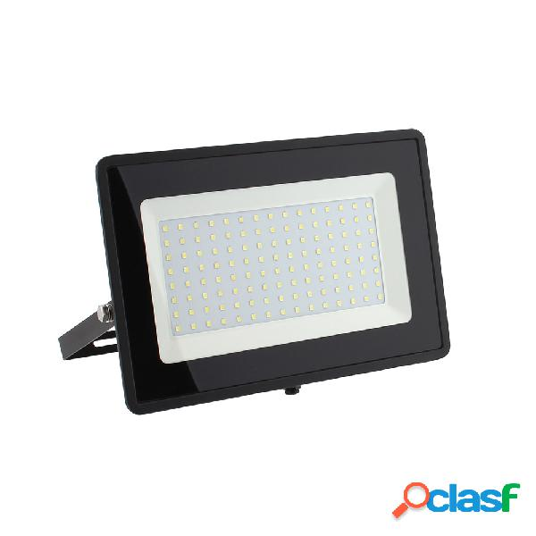 Proyector led smd2835 solid power ssd 100w blanco cálido
