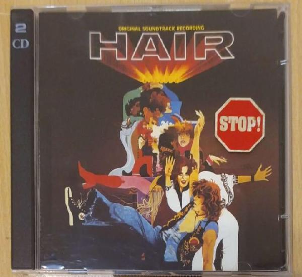 B.s.o. hair (galt macdermot) 2 cd's 1995