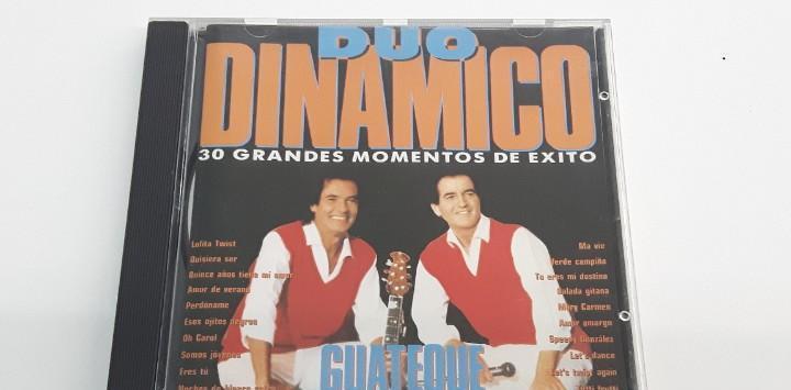Cd duo dinamico - guateque - 30 grandes momentos de exito
