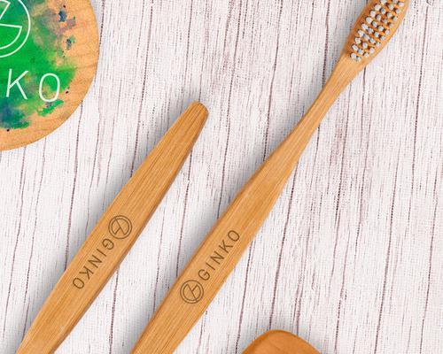 """Cepillo de dientes de bambú """"Wooden"""""""