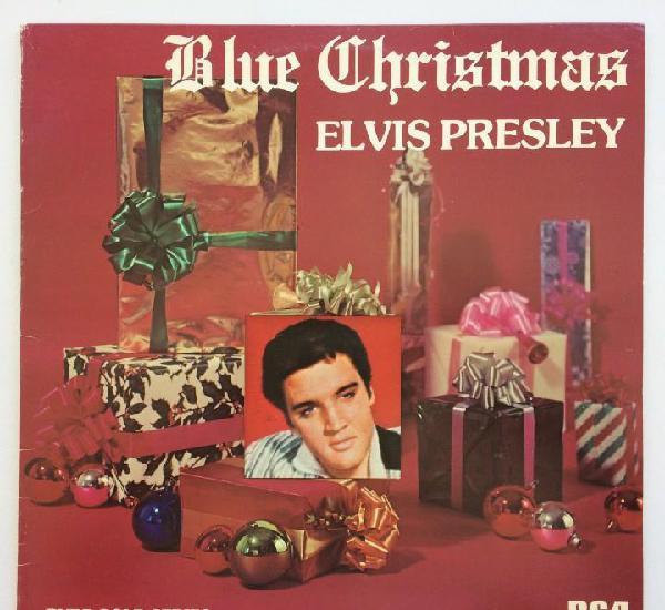 Elvis presley – blue christmas sweden,1977 rca