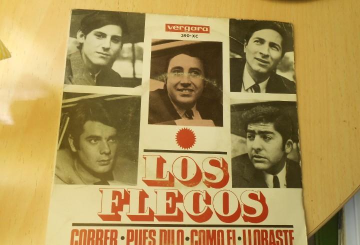 Flecos, los, ep, correr + 3, año 1966