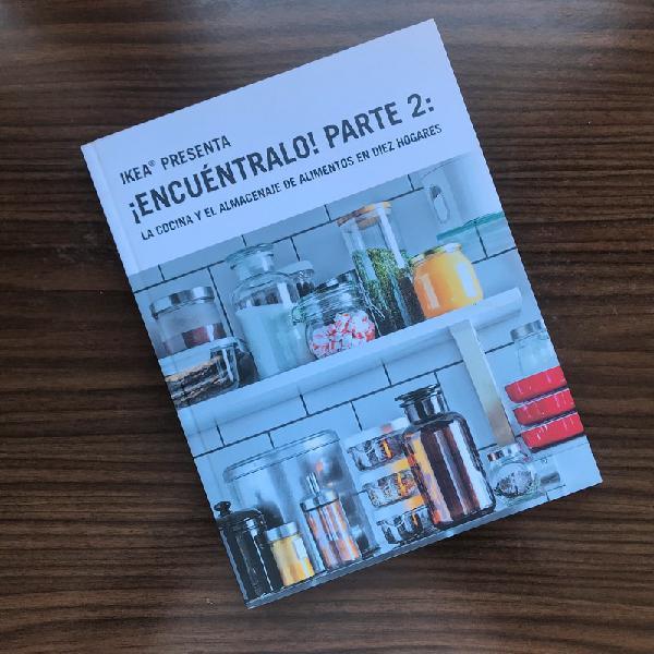 Ikea libro de cocina y el almacenaje  