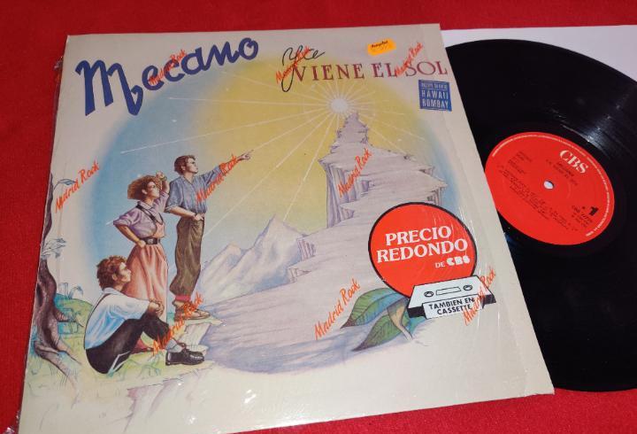 Mecano ya viene el sol lp 1985 cbs movida pop nacho cano ana