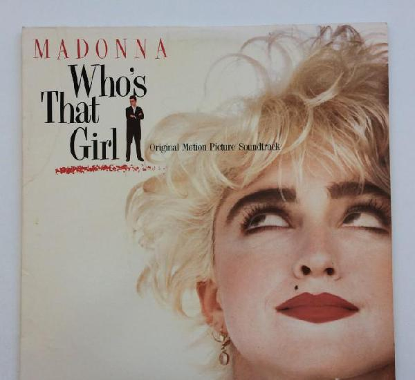 Madonna – Who's That Girl (Original Motion Picture