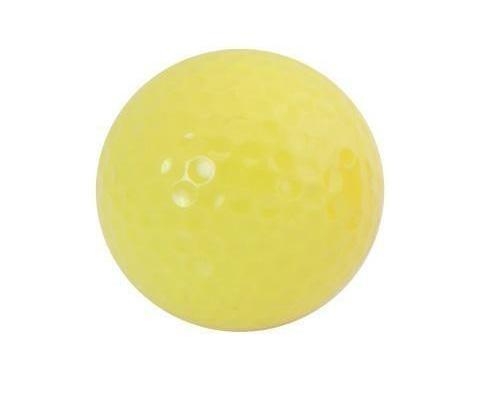 Pelotas golf: pelota blanca o color