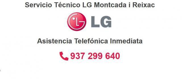 Servicio Técnico LG Montcada i Reixac 934242687