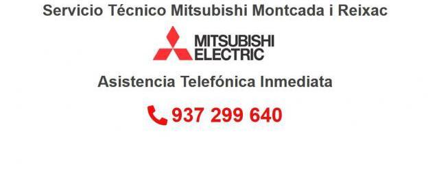 Servicio Técnico Mitsubishi Montcada i Reixac 934242687