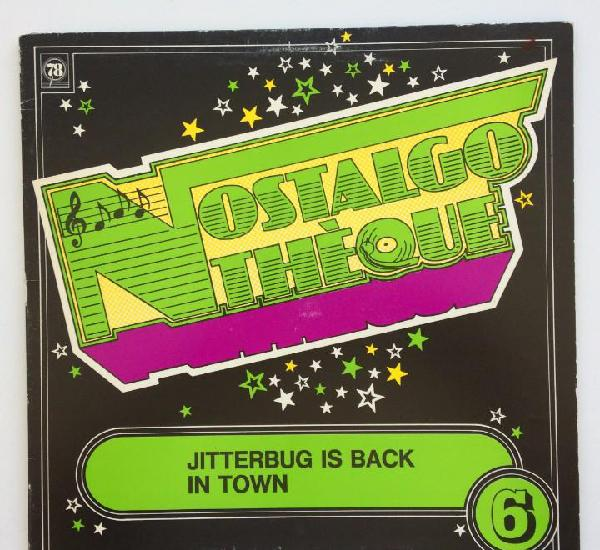 Various - jitterbug is back in town sweden nostalgothéque