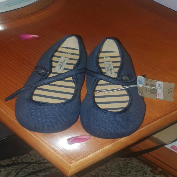 Zapatillas azul niña