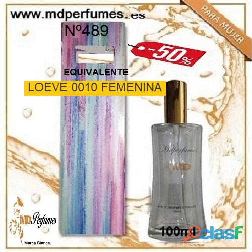 Oferta 10€ Perfume Mujer LOEVE 0010 FEMENINA nº489 Alta Gama Equivalente 100ml