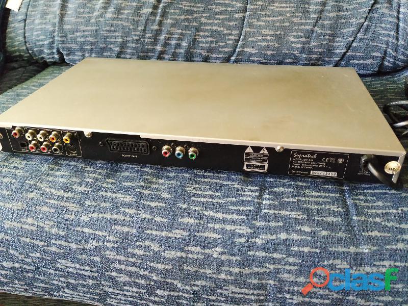 Reproductor DVD Supratech DV 228, funcionando, sin mando 1