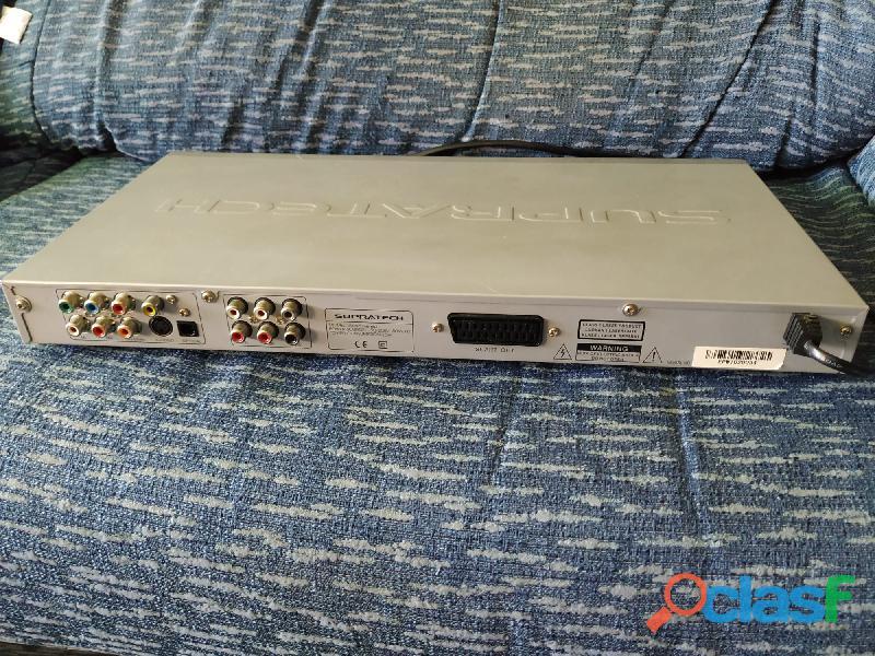 Reproductor DVD Supratech Vision Nereo, funcionando, sin mando 1