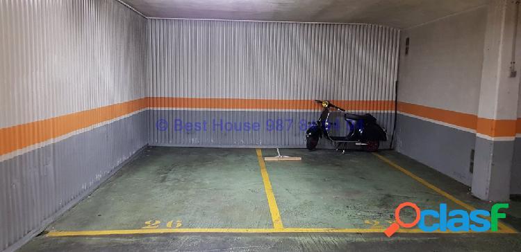 Plaza de garaje en alquiler en el centro de león