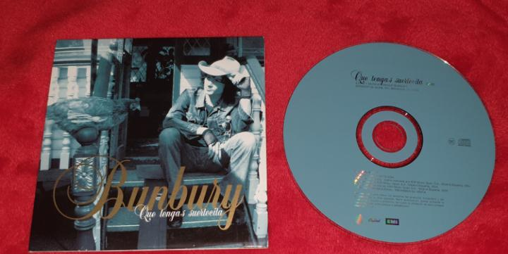 Bunbury - que tengas suertecita - cd single promo heroes del