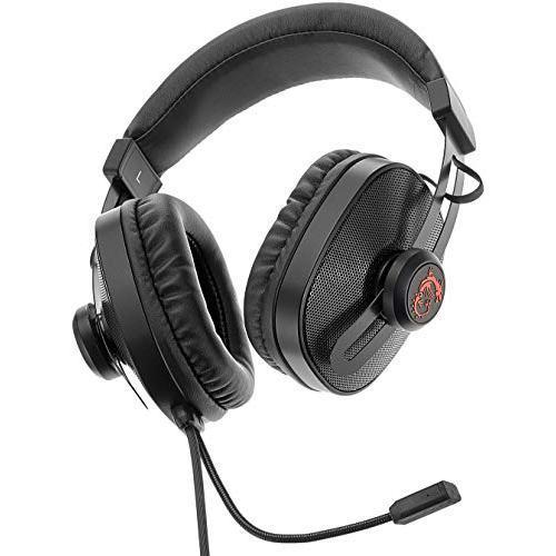 Cascos reducción de ruido gaming micrófono msi gaming s
