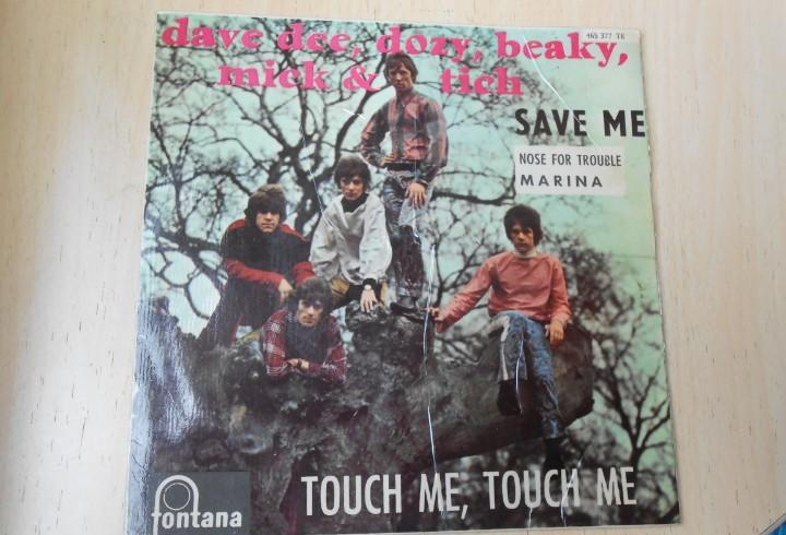 Dave dee, dozy, beaky, mick & tich, ep, touch me, touch me +