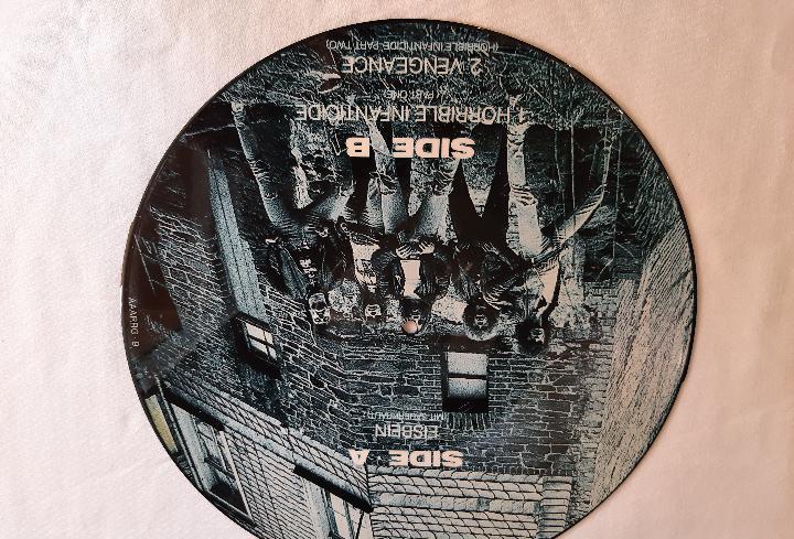 """Living death -eisbein (mit sauerkraut)- picture disc 12"""""""