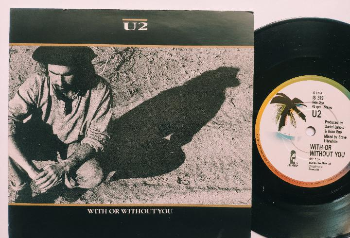 U2 - 45 UK PS - MINT * WITH OR WITHOUT YOU * 1987