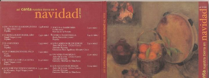 Asi canta nuestra tierra en navidad - vol. 18 (varios) (cd