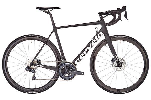 Bicicleta de carrera cervélo r3 disc shimano ultegra di2