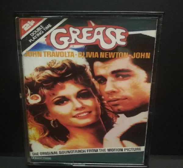 Cassette - b.s.o. grease (brillantina) john travolta -