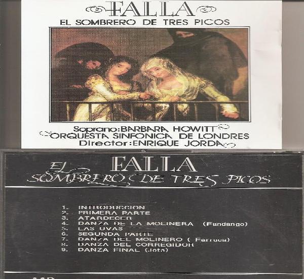 Falla - el sombrero de tres picos (cd, dial discos 1991)