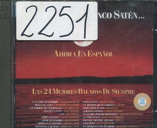 Noches de blanco saten (en epañol) varios hispavox 1993