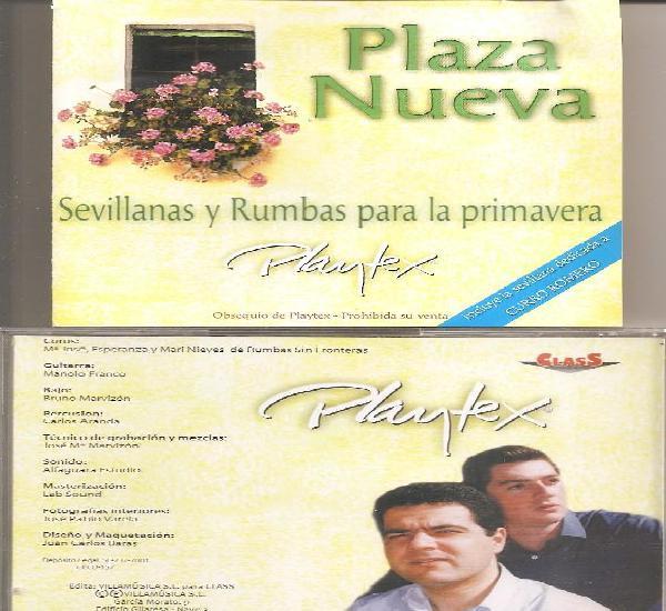 Plaza nueva - sevillanas y rumbas para la primavera (cd,